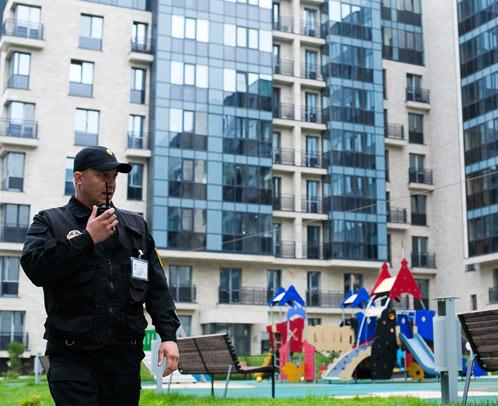 Охрана ТСЖ, многоквартирного дома, жилых комплексов