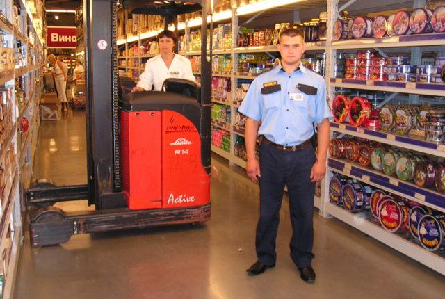 Особенности охраны магазинов